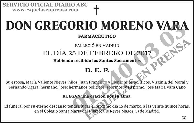 Gregorio Moreno Vara